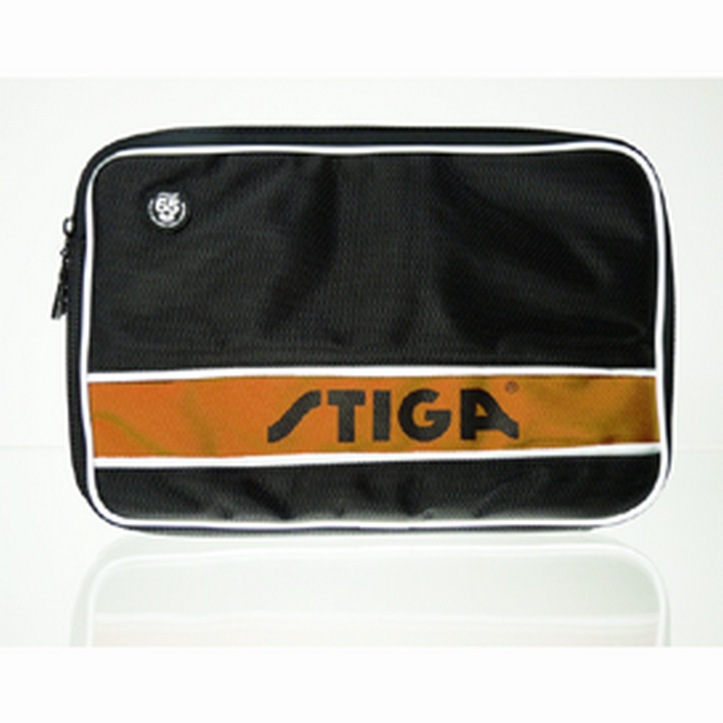 Pouzdro STIGA Style obdélník - černo-oranžová -