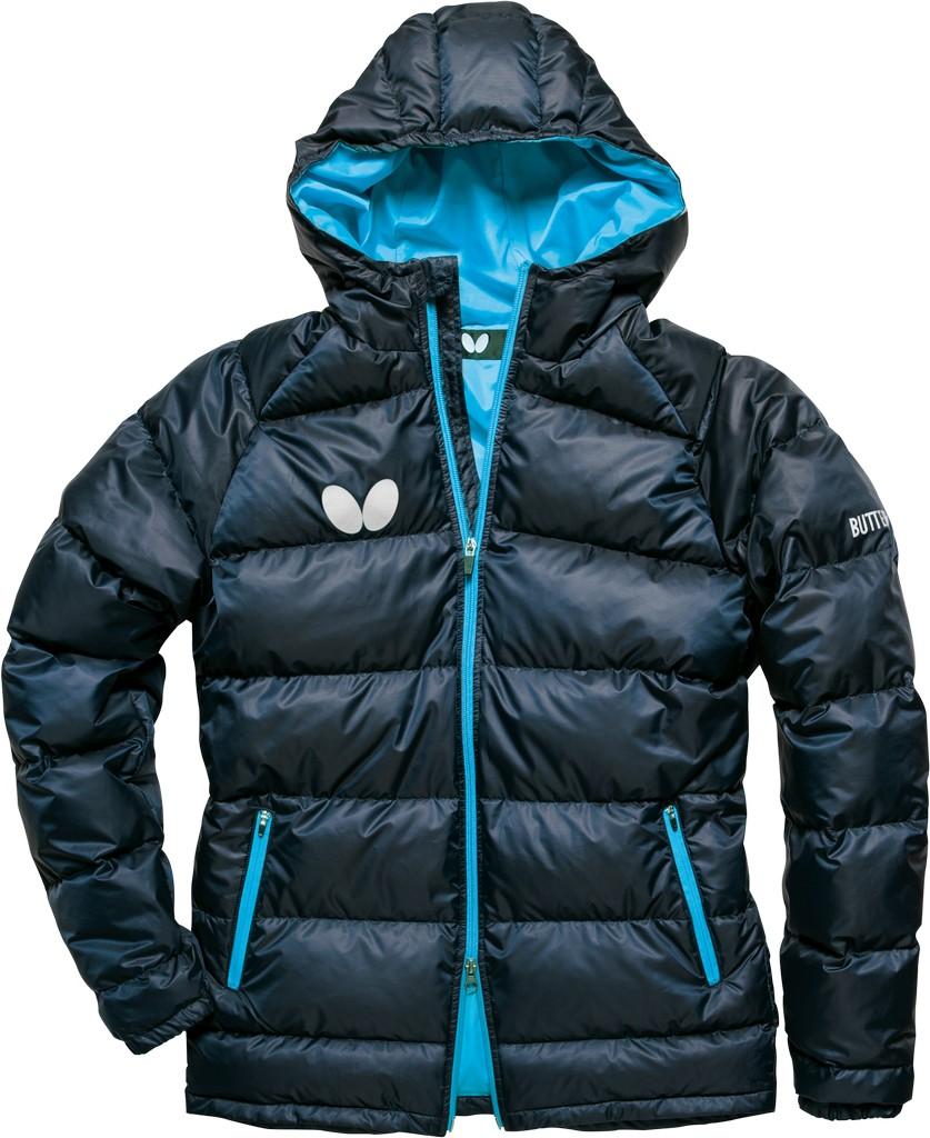 Zimní bunda BUTTERFLY Down tmavě modrá - tmavě modrá -M