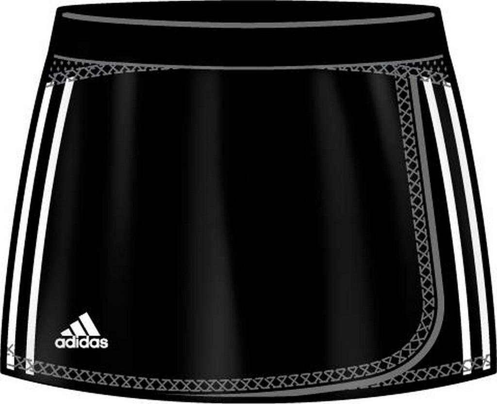 Sukně adidas Skort černá - černá -XXS