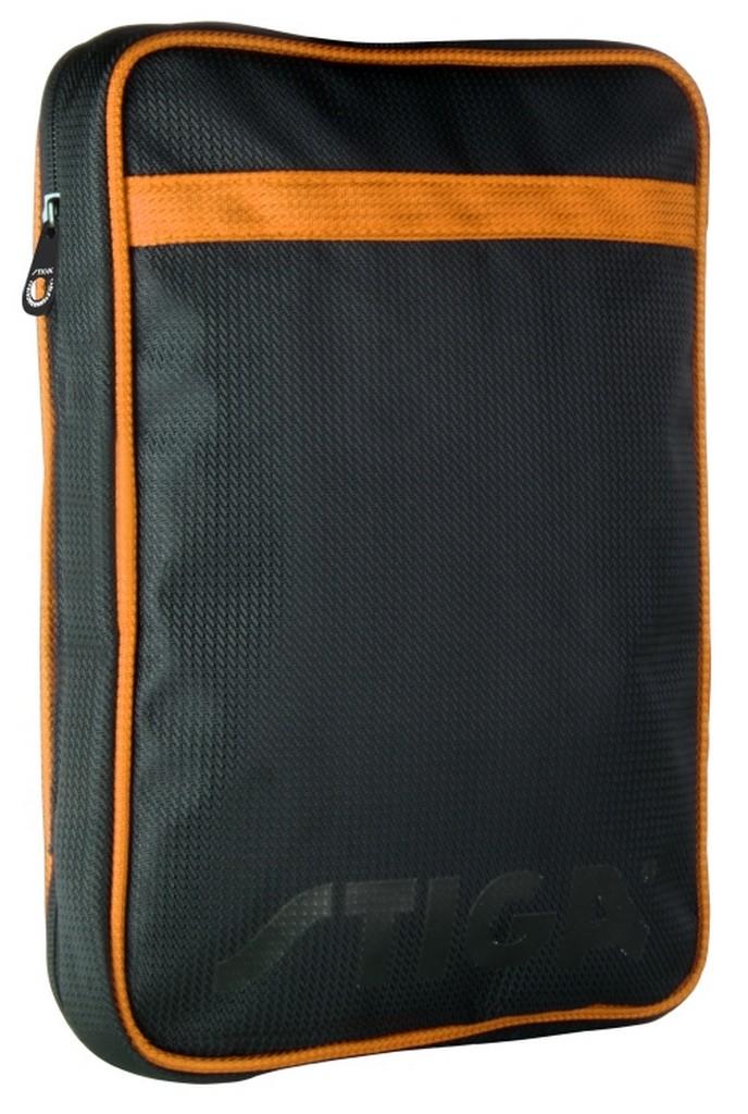 Pouzdro STIGA League obdélník - černo-oranžová -