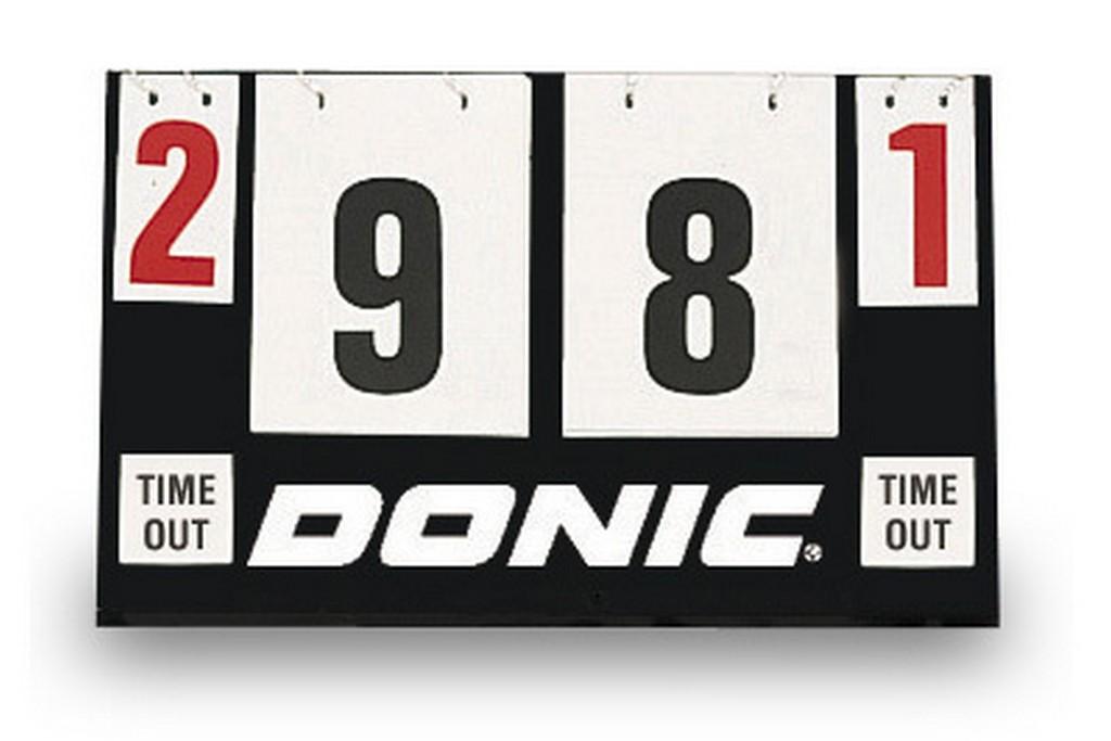 Počítadlo DONIC Scoreboard Timeout - -