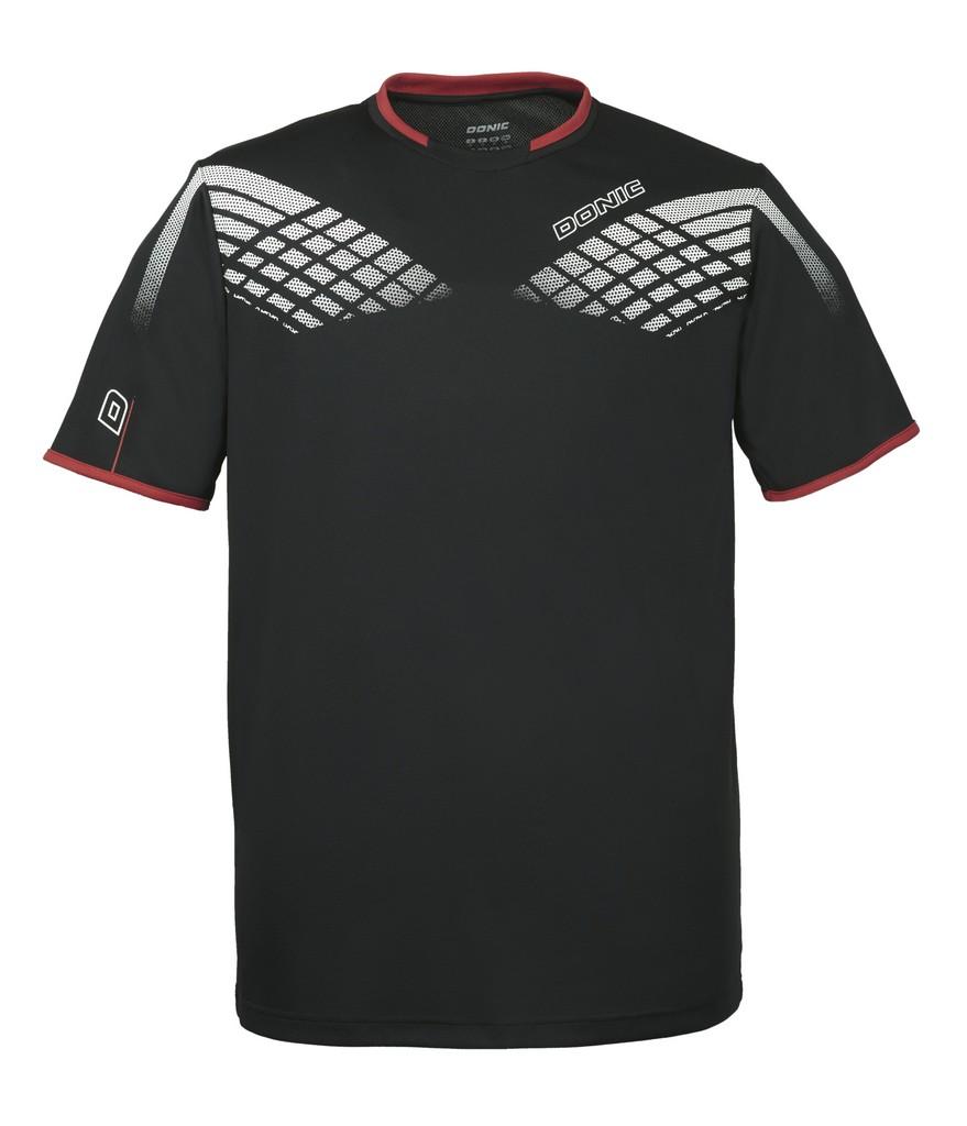 Tričko DONIC Legacy černé - černá -XL