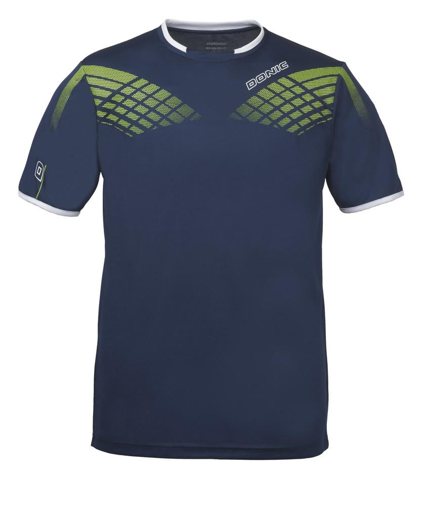 Tričko DONIC Legacy tmavě modré - tmavě modrá -140