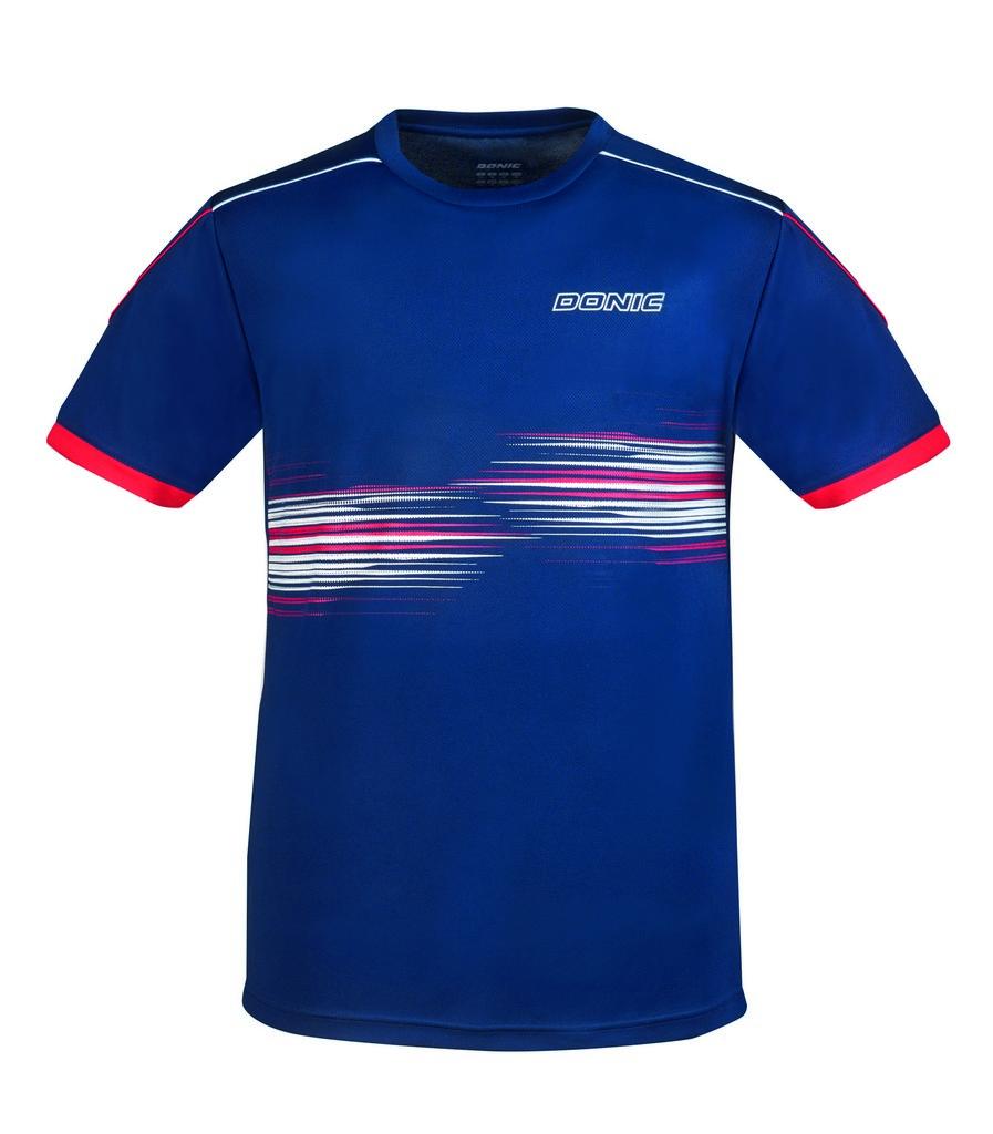 Tričko DONIC Sentry tmavě modré - tmavě modrá -140