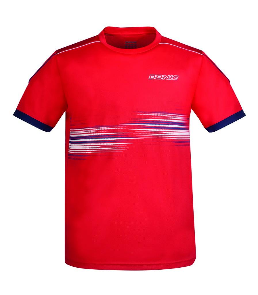 Tričko DONIC Sentry červené - červená -M