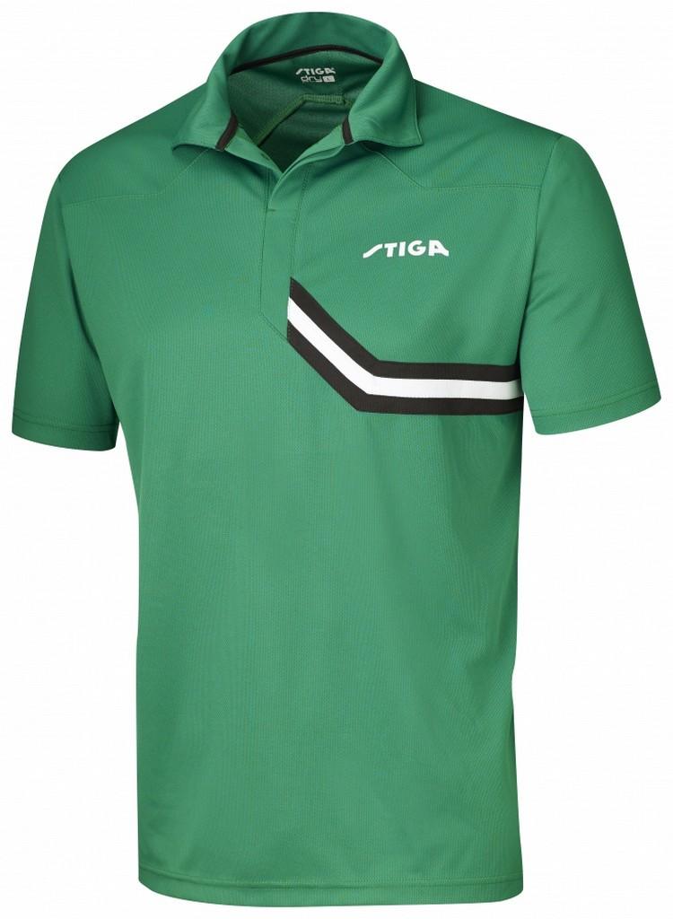 Polokošile STIGA Conquer zelená s černýá - zelená s černým -XS