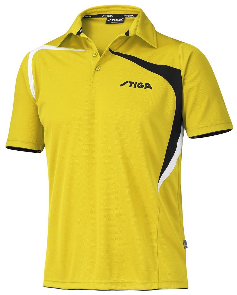 Polokošile STIGA Intense žlutá - žlutá -XXXL