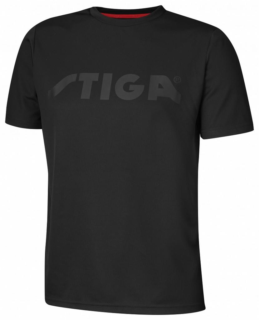 Tričko STIGA Victorious černé - černá -XXXL