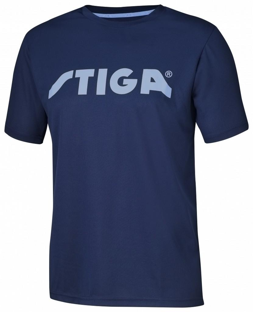 Tričko STIGA Victorious tmavě modré - tmavě modrá -S