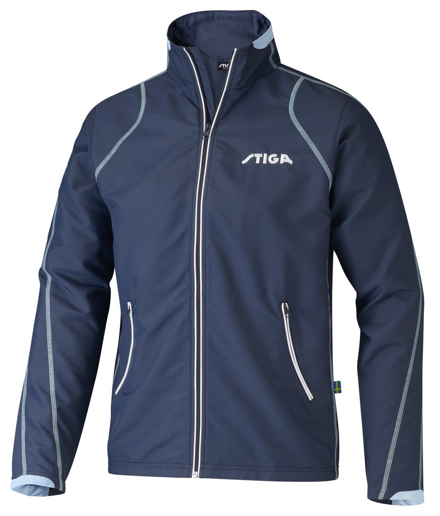 Bunda k soupravě STIGA Classic - modrá - modrá -XL