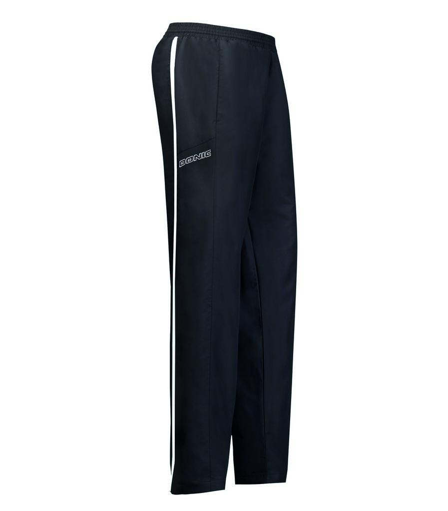 Kalhoty k soupravě DONIC Laser- černá - černá -S