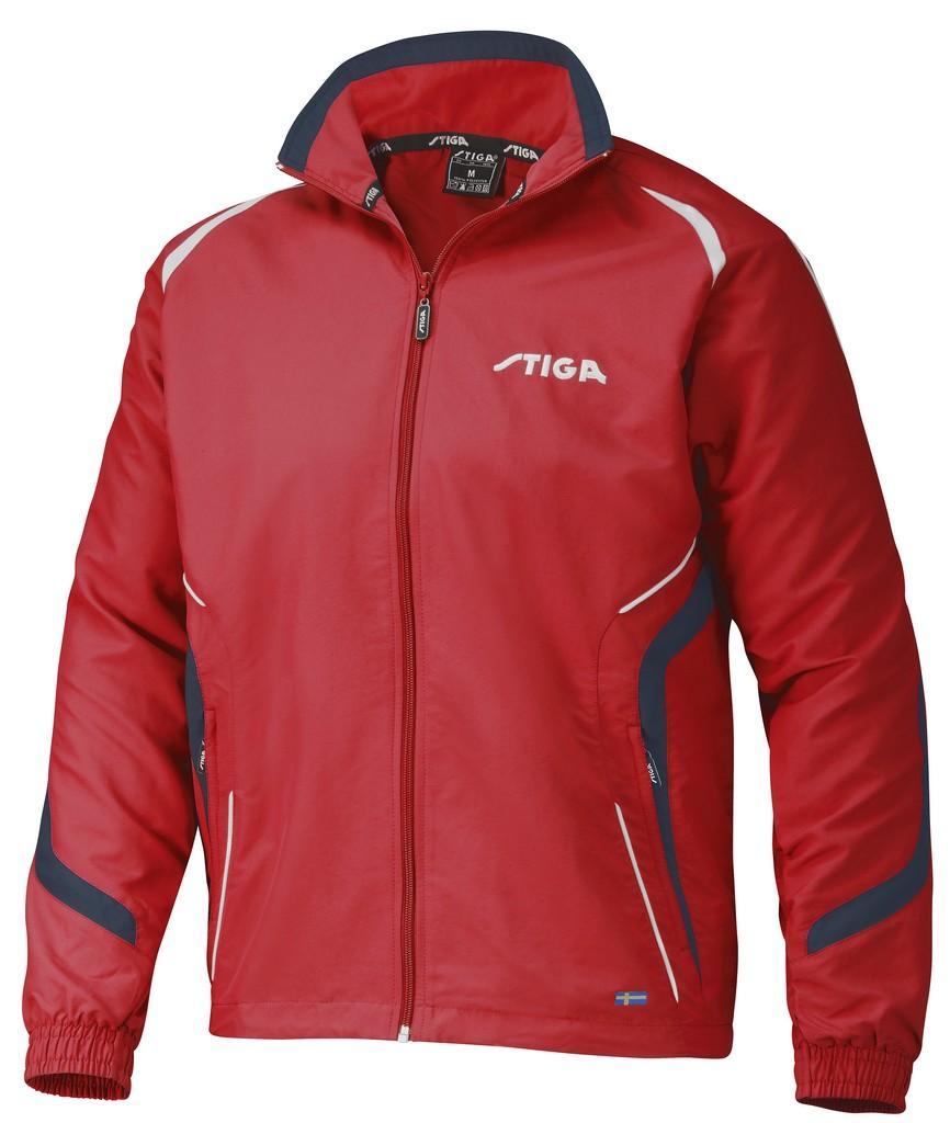 Bunda k soupravě STIGA Elegance - červená - červená -S