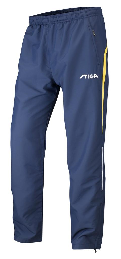 Kalhoty k soupravě STIGA Elegance- tmavě modrá se žlutýá - tmavě modrá se žlutým -S