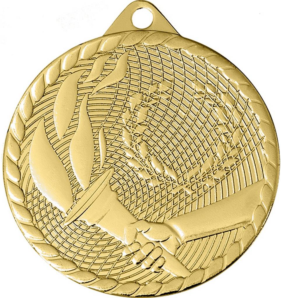 Medaile pro vítěze ENEBE Fuego zlatá motiv stolní tenis - zlatá -5 cm