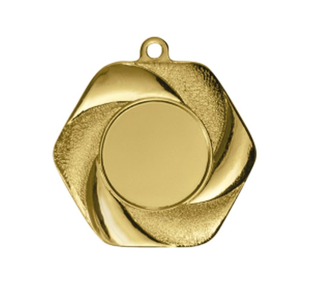 Medaile pro vítěze ENEBE Alta zlatá motiv stolní tenis - zlatá -5 cm