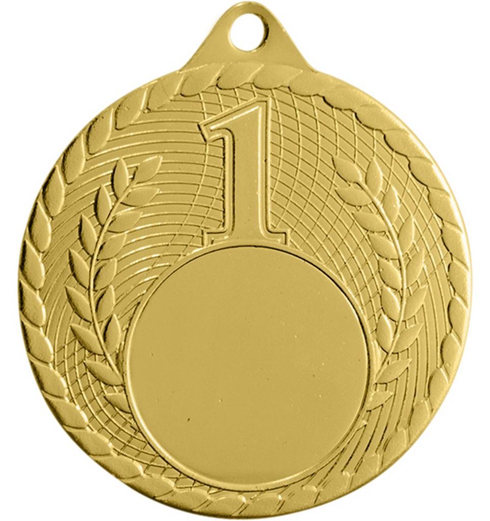Medaile pro vítěze ENEBE Iron zlatá motiv stolní tenis - zlatá -5 cm