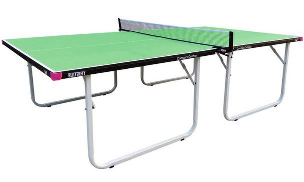 Stůl BUTTERFLY Compact Outdoor - zelená -