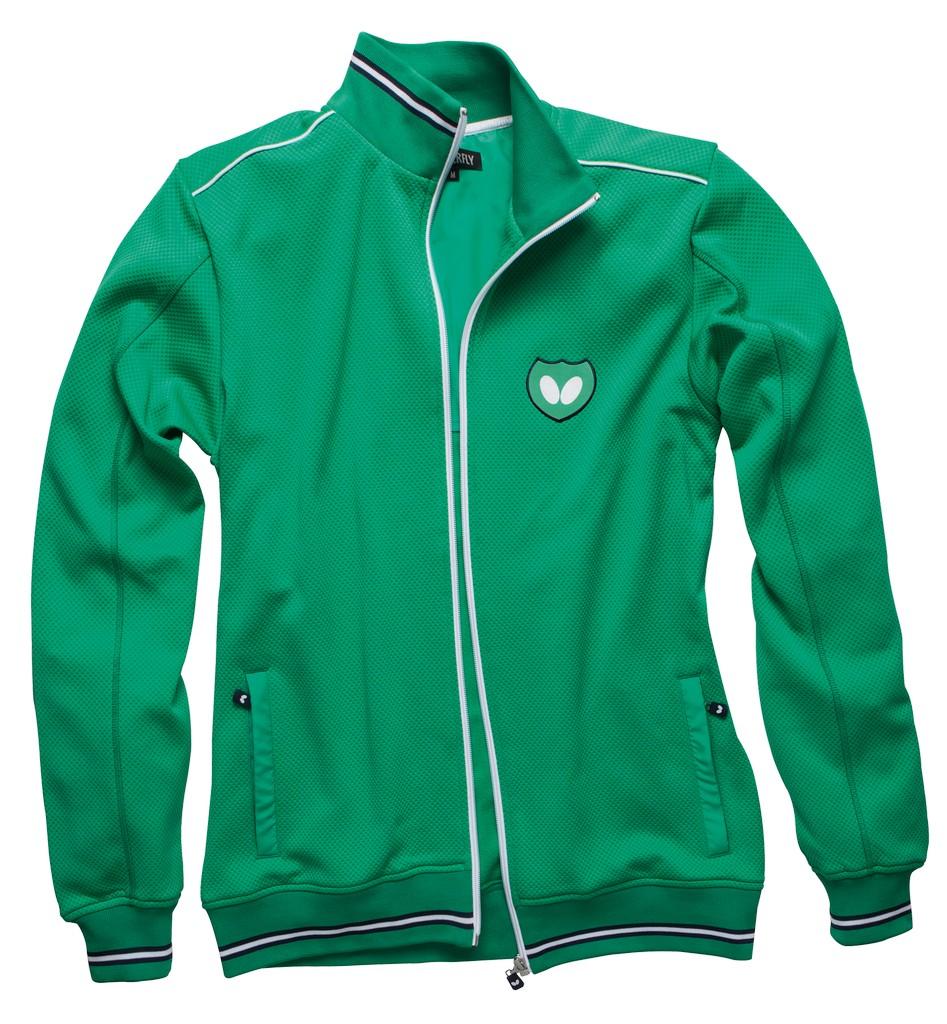 Mikina BUTTERFLY Hino zelená - zelená -XS