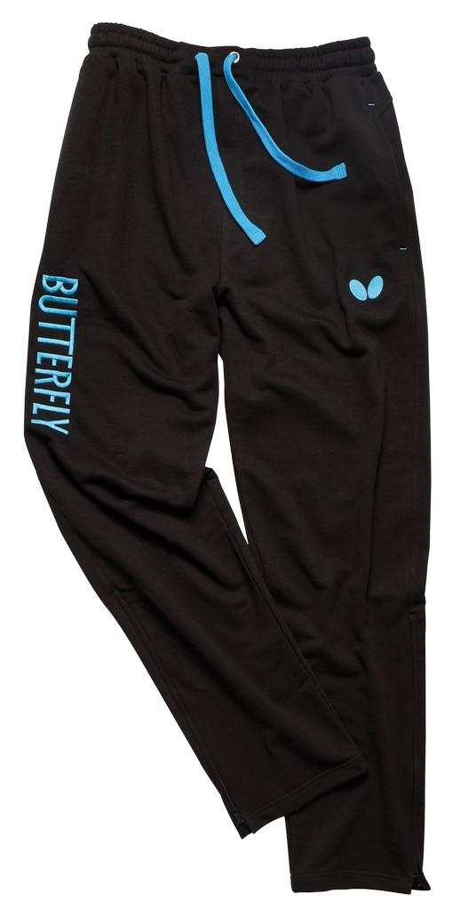 Kalhoty k soupravě BUTTERFLY Cozy- černá - černá -S