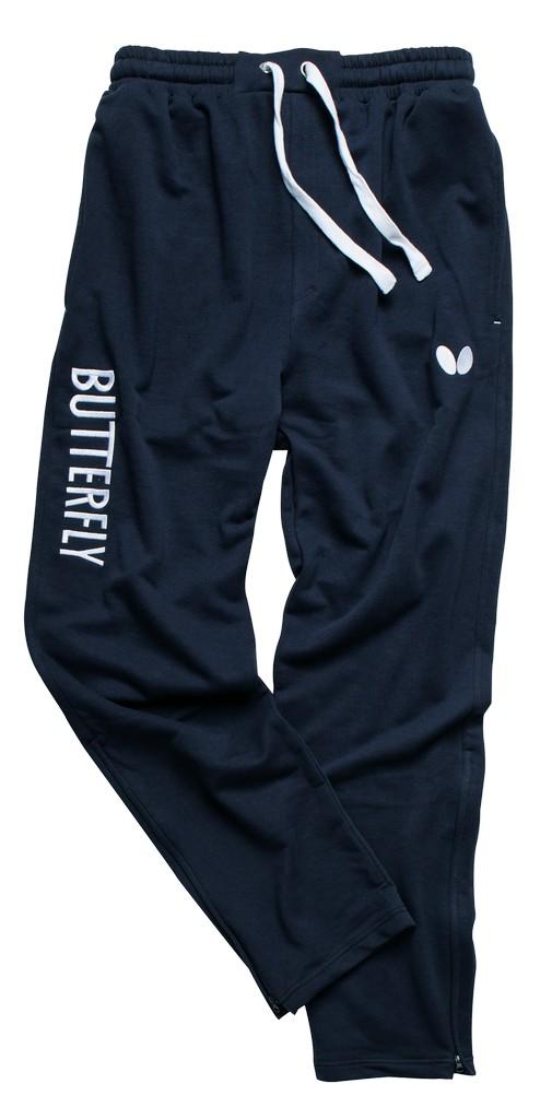 Kalhoty k soupravě BUTTERFLY Cozy- modrá - modrá -XL