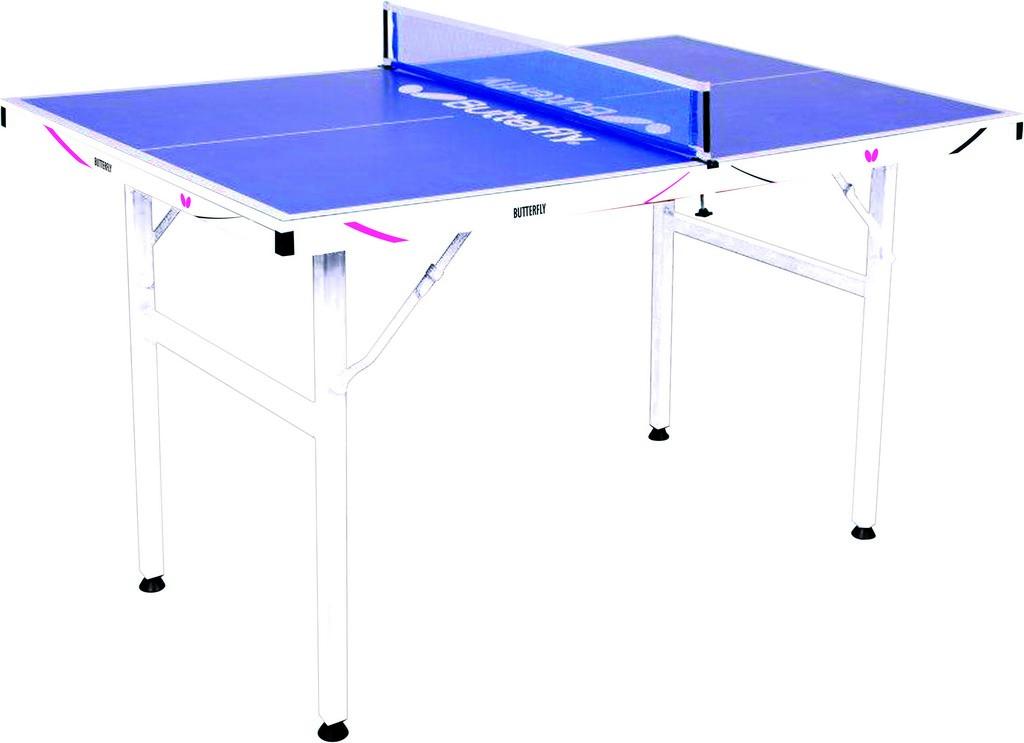 Stůl BUTTERFLY Midi stůl Drive - modrá -