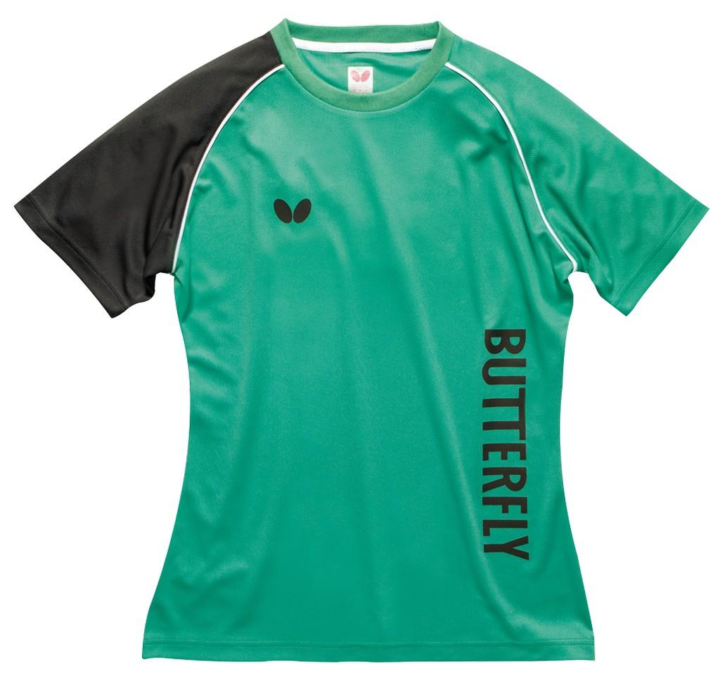 Tričko BUTTERFLY Aino Lady zelené - zelená -L