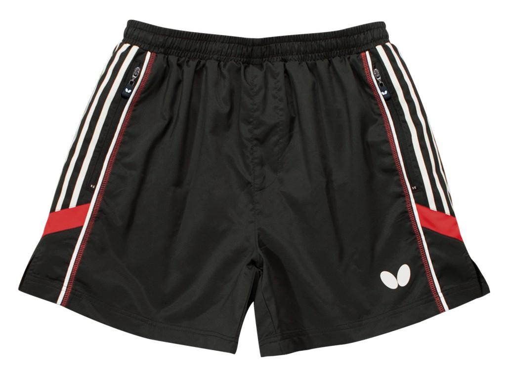 Šortky BUTTERFLY Nash černá/červené - černá/červená -152
