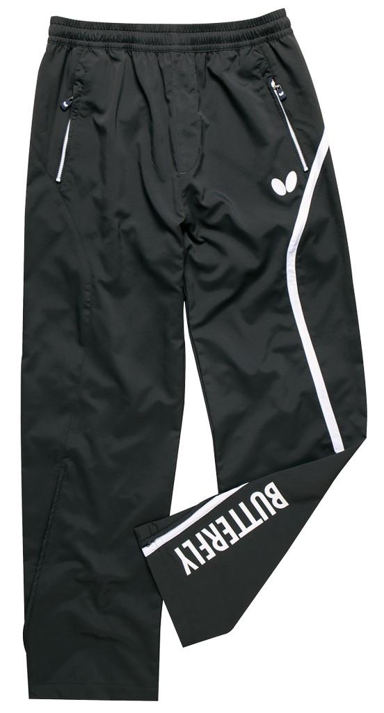 Kalhoty k soupravě BUTTERFLY Kuma- antracitová - antracitová -XS