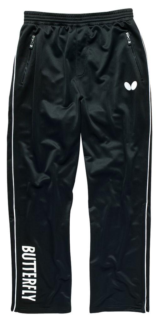 Kalhoty k soupravě BUTTERFLY Nash- černá - černá -S
