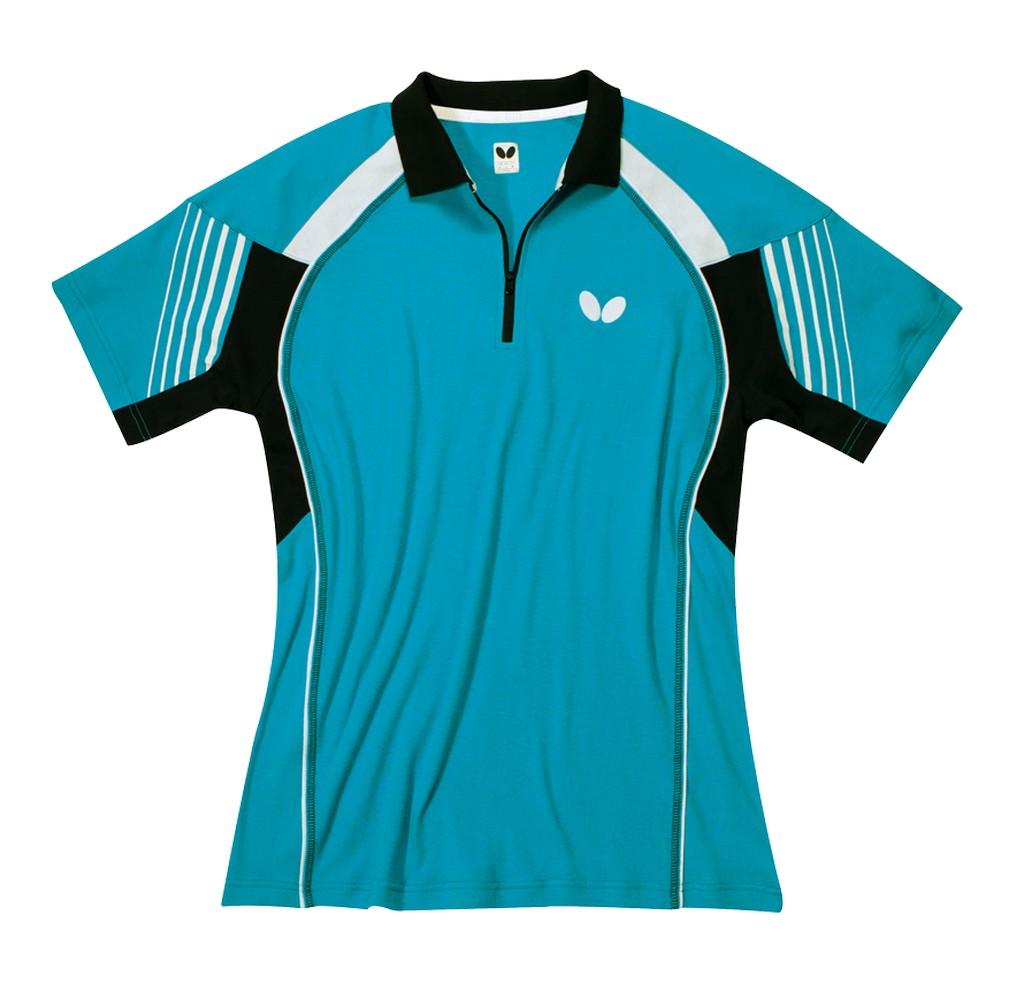 Polokošile BUTTERFLY Nash (bavlna) modrá - modrá -XXL