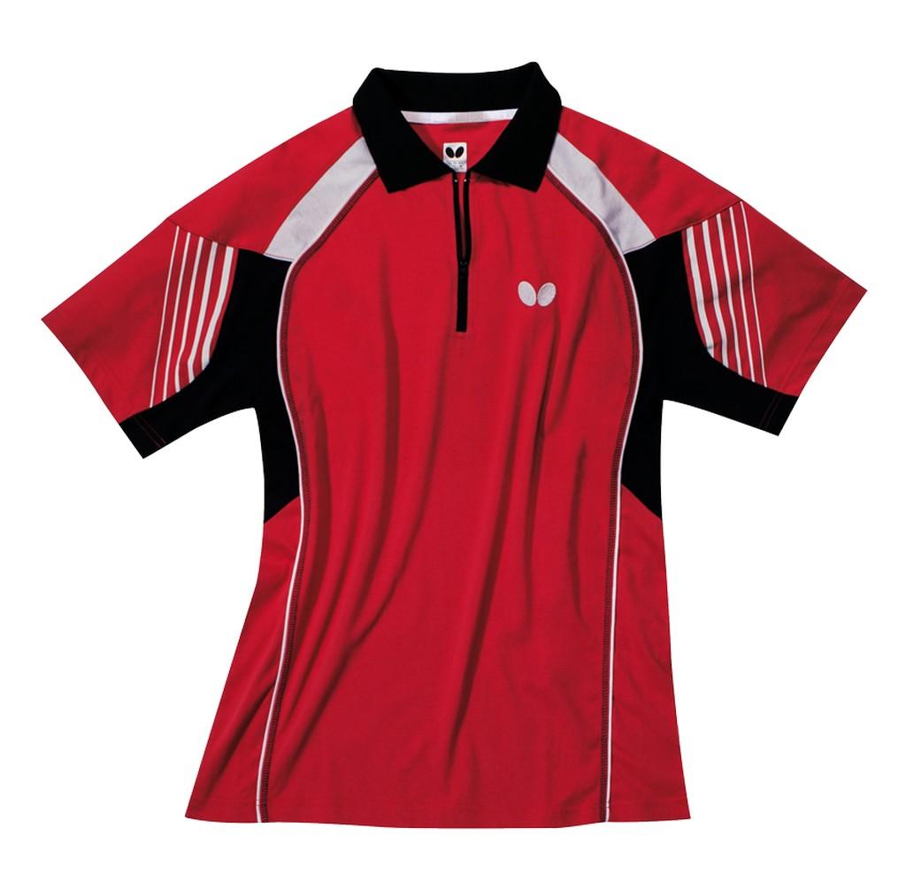 Polokošile BUTTERFLY Nash (bavlna) červená - červená -XXXXL
