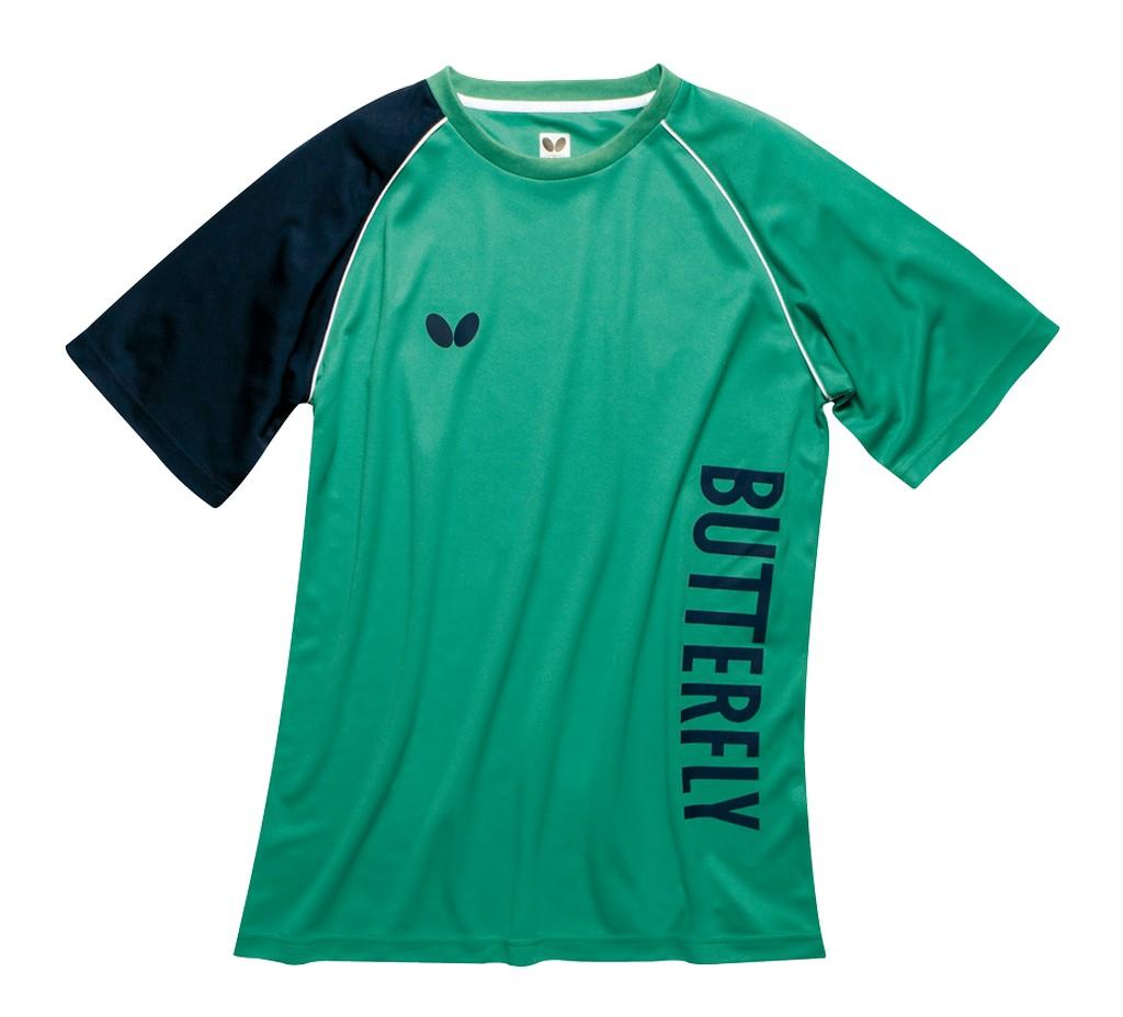 Tričko BUTTERFLY Aino zelené - zelená -S
