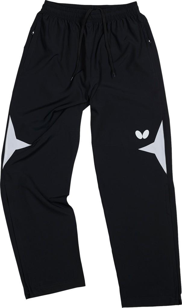 Kalhoty k soupravě BUTTERFLY Shiro- černá - černá -S