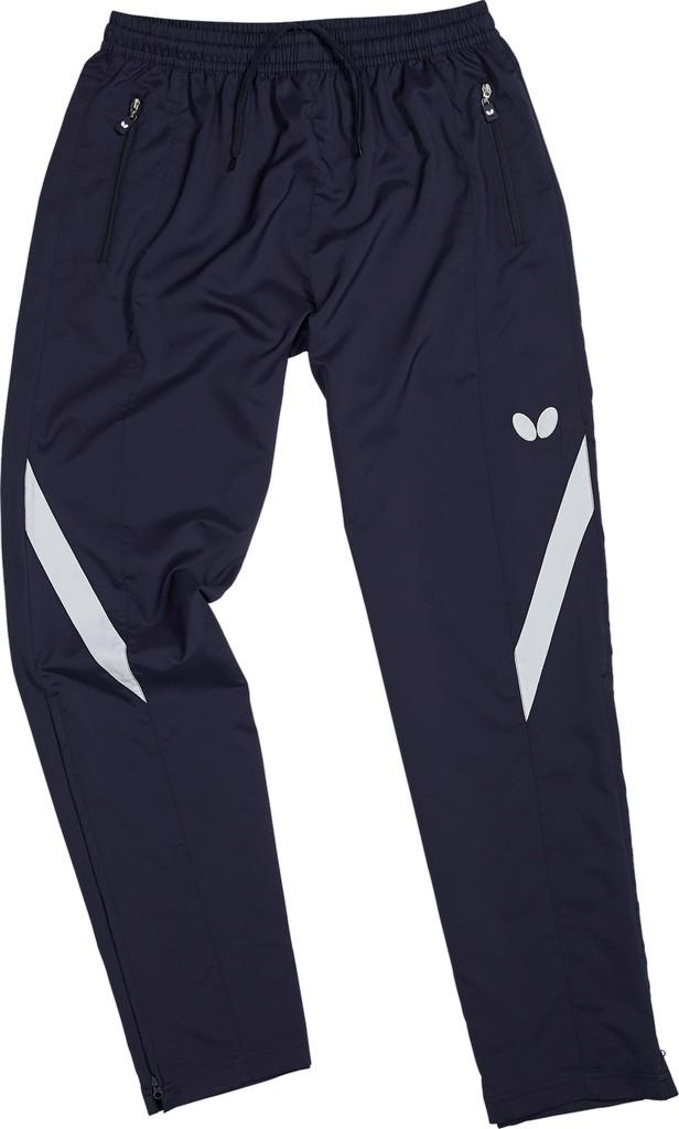Kalhoty k soupravě BUTTERFLY Takeo- tmavě modrá - tmavě modrá -XS