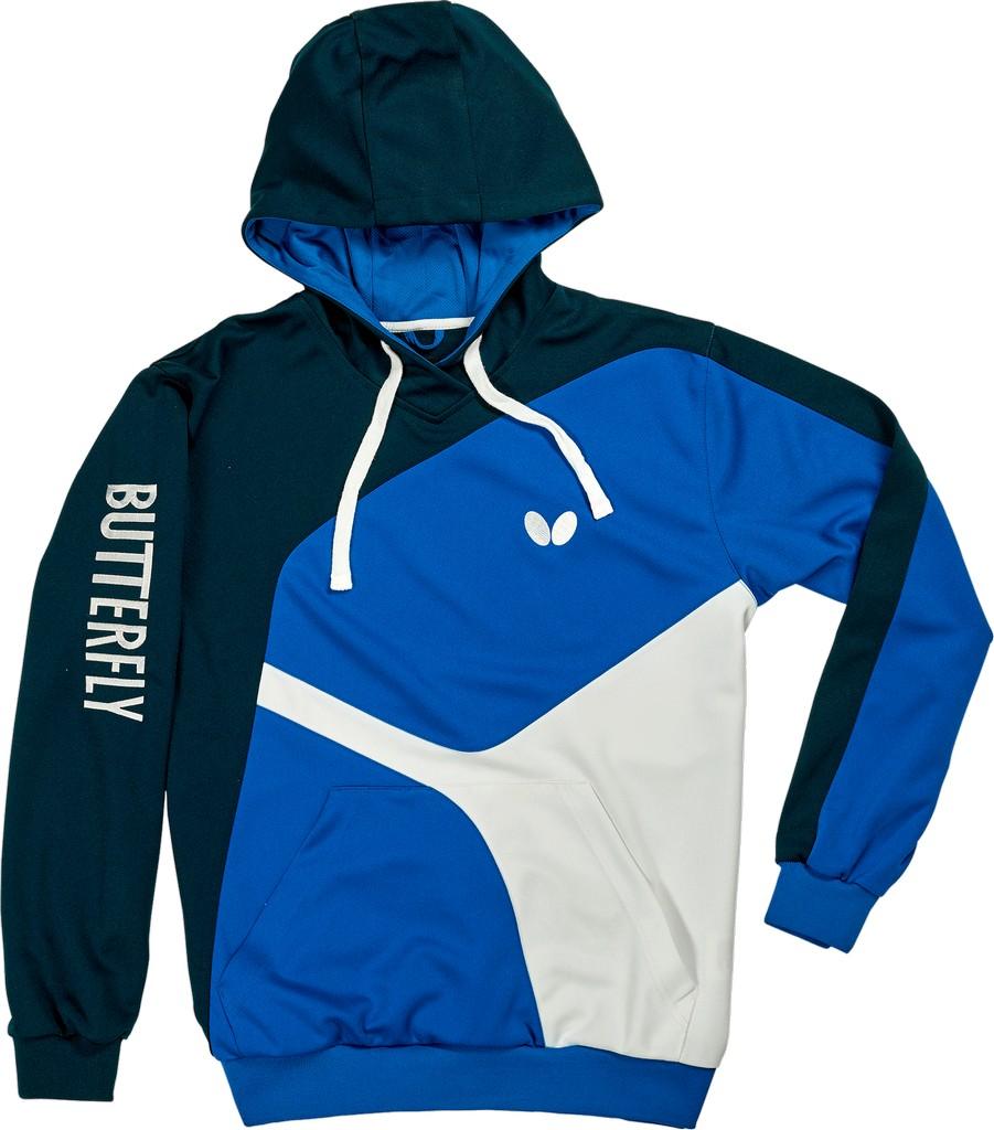Mikina BUTTERFLY Ryo (mikina) modrá - modrá -S