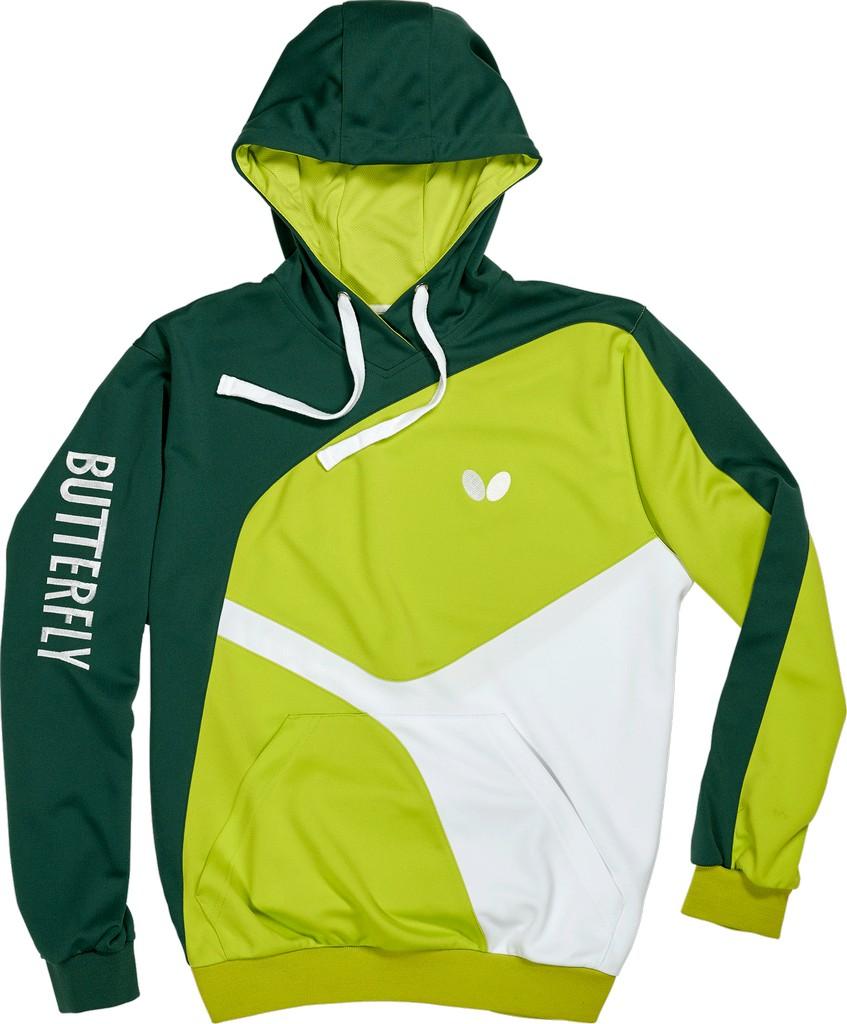 Mikina BUTTERFLY Ryo (mikina) zelená - zelená -XS