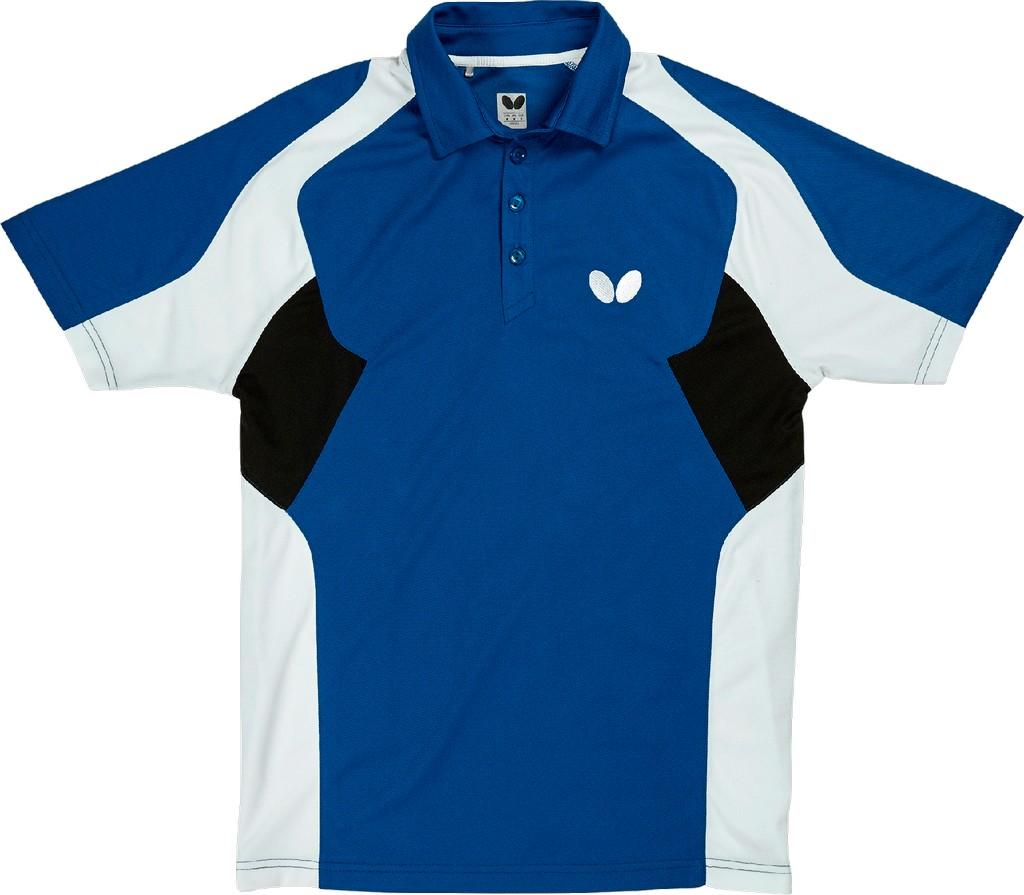 Polokošile BUTTERFLY Shiro modrá - modrá -XXXXL