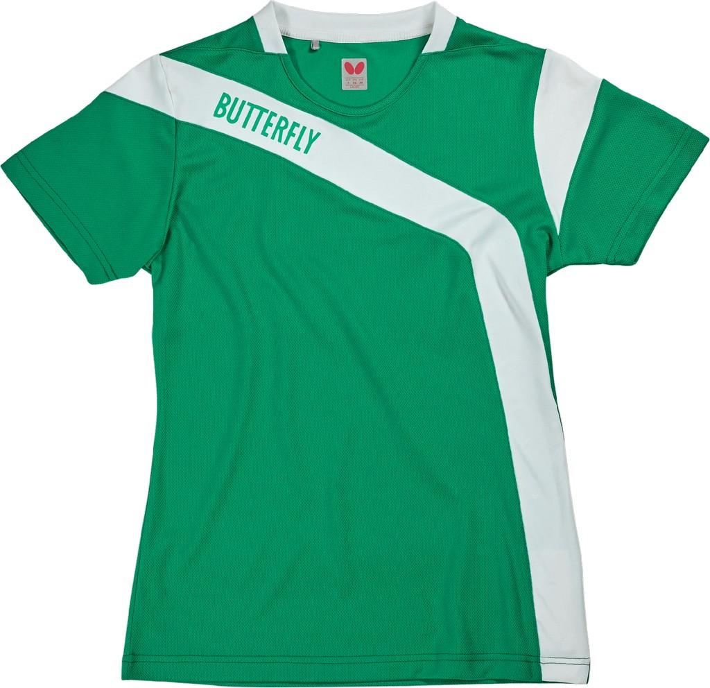 Polokošile BUTTERFLY Yasu Lady zelená - zelená -M
