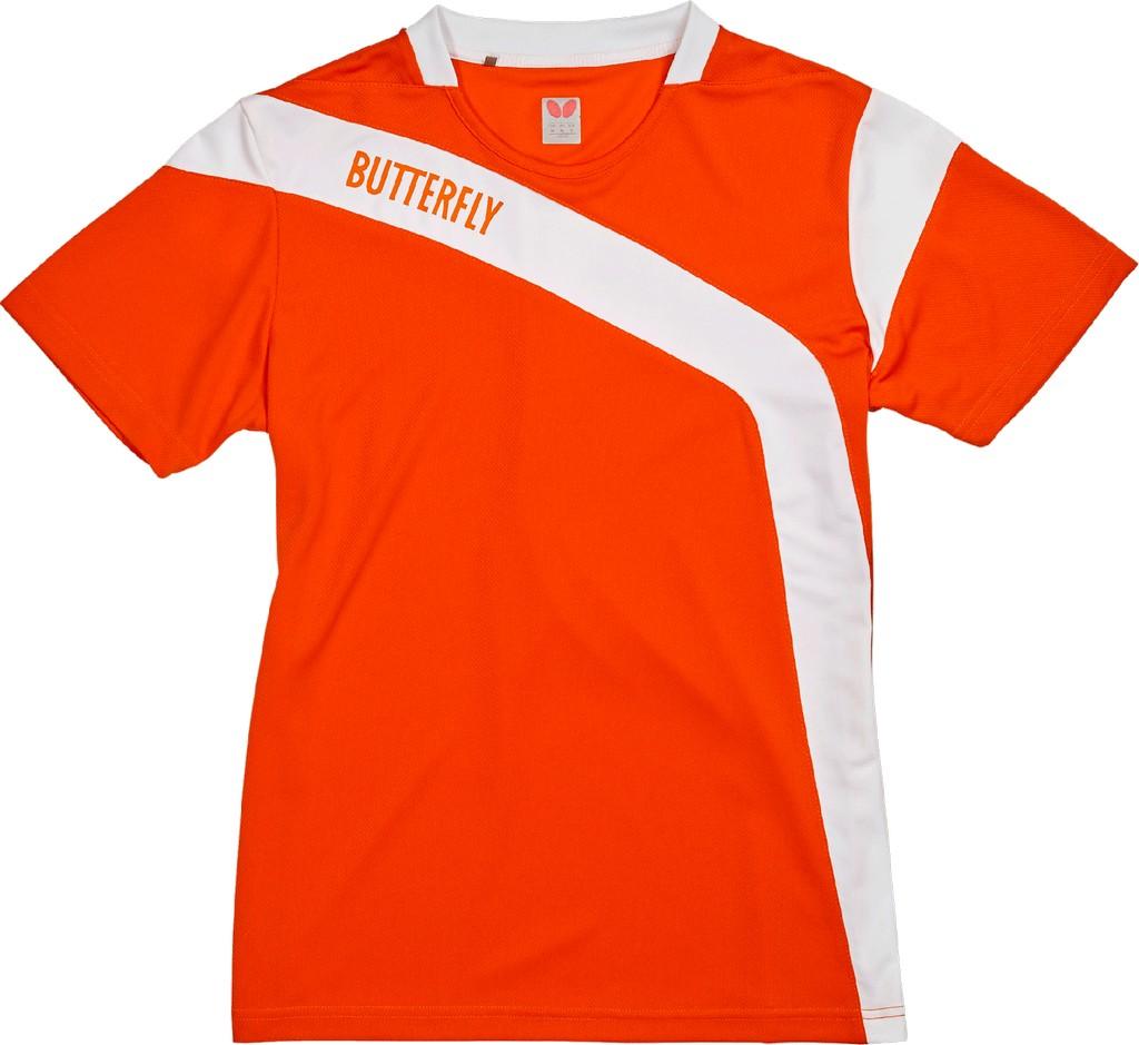 Polokošile BUTTERFLY Yasu Lady oranžová - oranžová -M