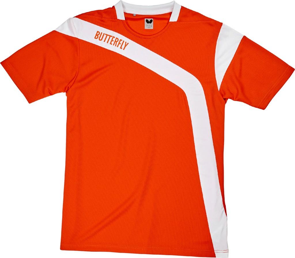 Polokošile BUTTERFLY Yasu oranžová - oranžová -128
