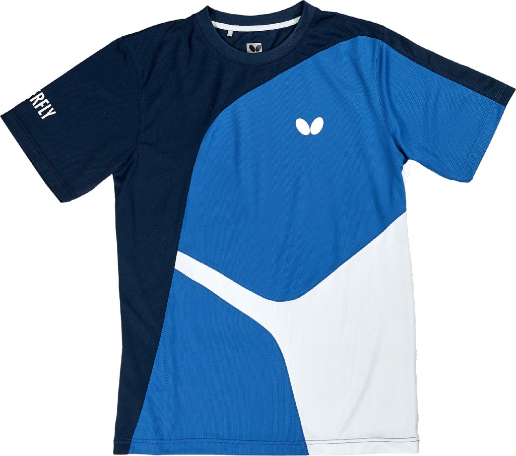 Tričko BUTTERFLY Ryo modré - modrá -128