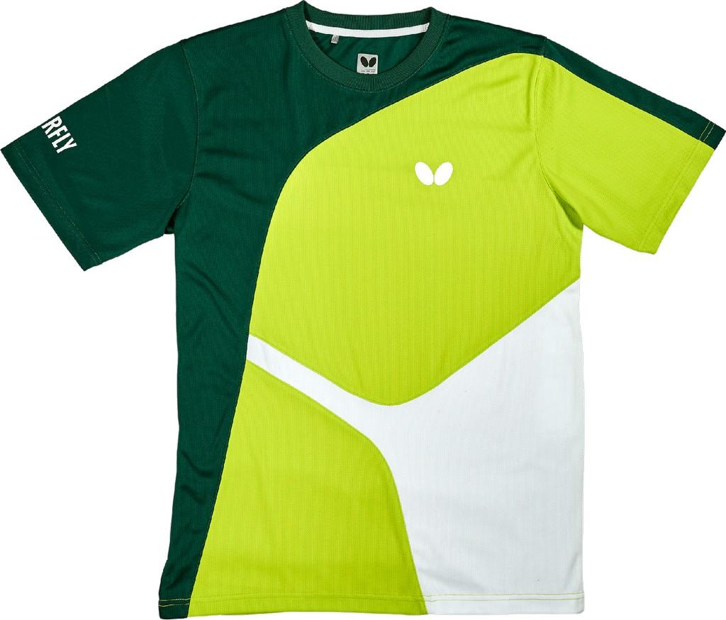 Tričko BUTTERFLY Ryo zelené - zelená -S