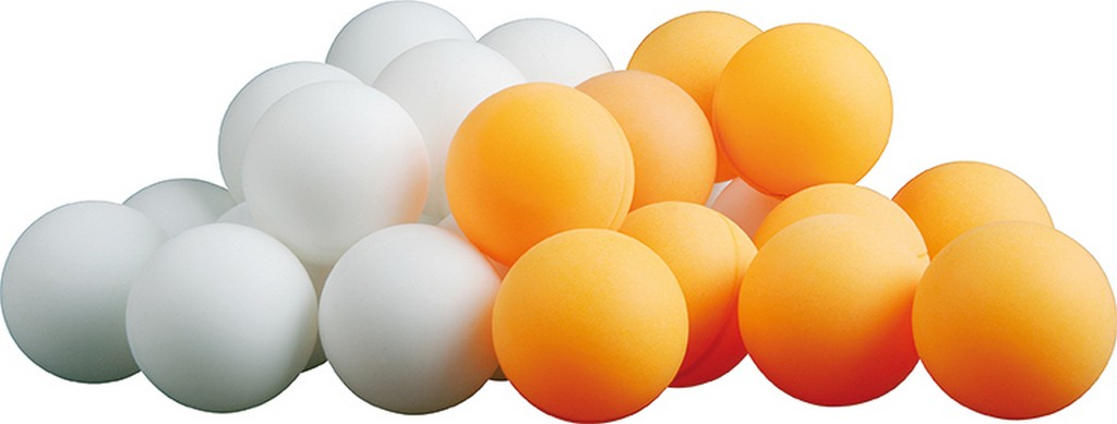 Míček DHS Bez potisku (1 ks) - oranžová -