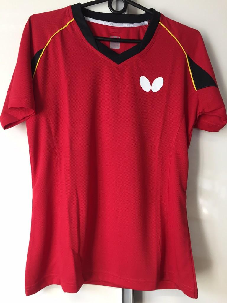 Polokošile BUTTERFLY Germany15 Lady červená - červená -L