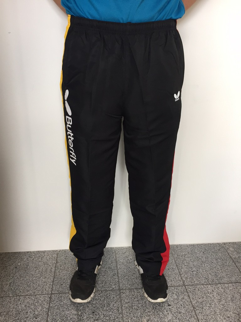 Souprava BUTTERFLY Germany (kalhoty) černá - černá -XXXL