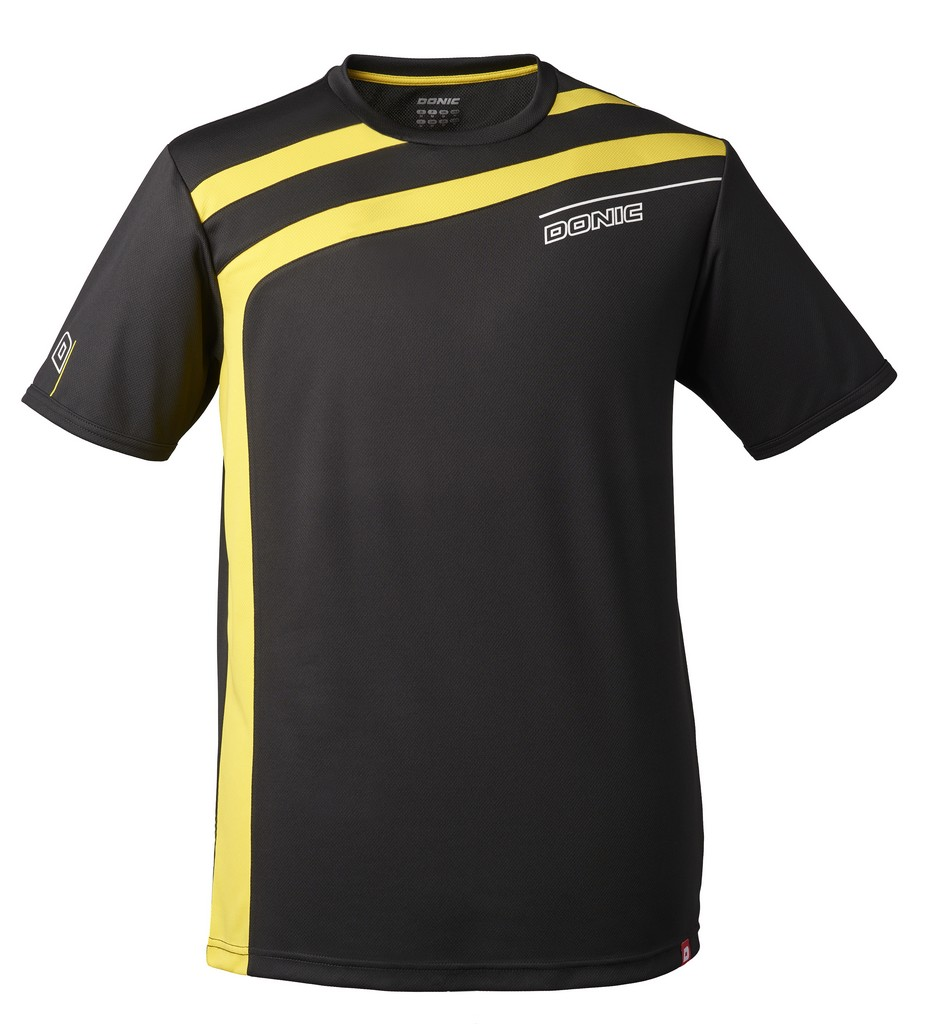 Tričko Donic Accuri černé - černá -XL