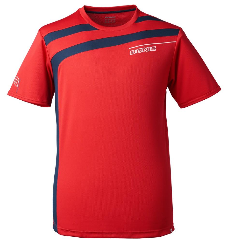 Tričko Donic Accuri červené - červená -152