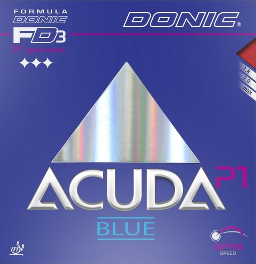 Potah DONIC Acuda Blue P1 - červená -