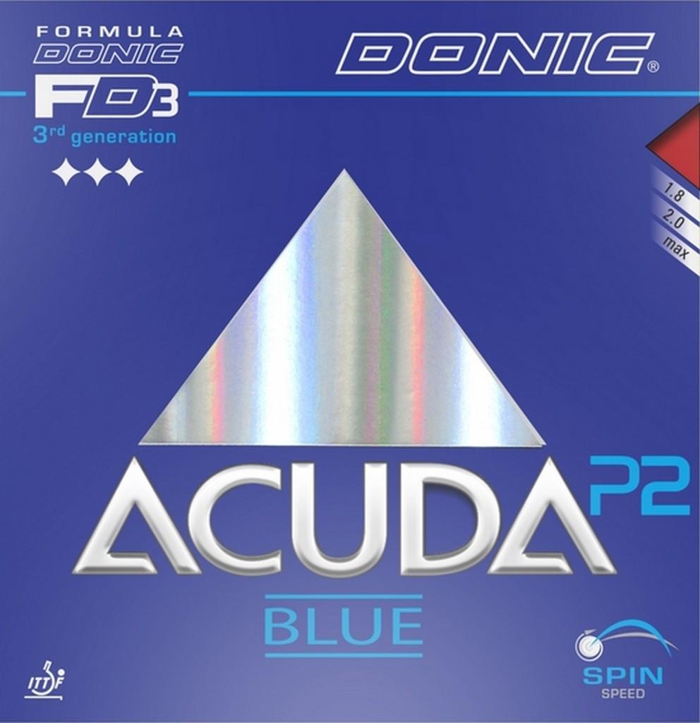 Potah DONIC Acuda Blue P2 - červená -