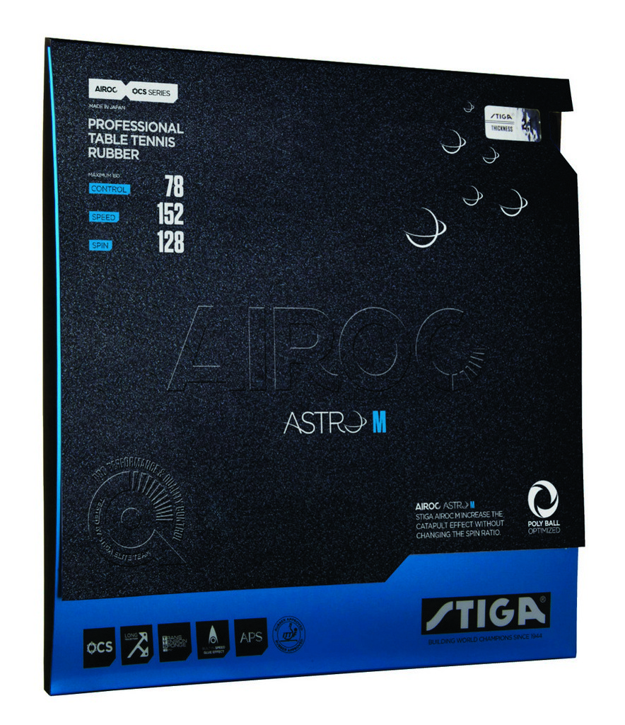 Potah STIGA Airoc Astro M - červená -